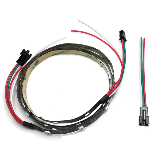 NS-LED-ST-030 (Rainbow STRIP double addhesive Tape / 1m 30LEDs)