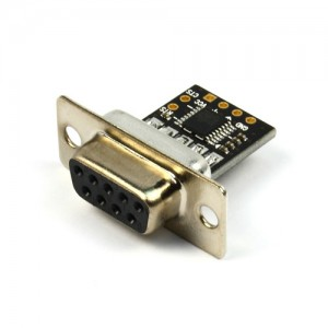 [NulSom Inc.] NS-RS232-01 (UART to RS232 변환 모듈 FEMALE 컨넥터)