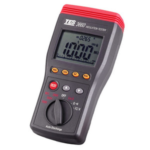 [TES/PROVA TES-3660] 절연저항계/AUTO-RANGING INSULATION TESTER
