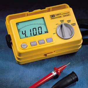 [TES/PROVA TES-1601] 절연저항계/AUTO-RANGING INSULATION TESTER