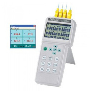 [TES/PROVA TES-1384] 4채널온도계/4-CHANNELS THERMOMETER/DATALOGGER(USB)