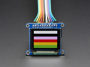 "[A1673] Adafruit OLED Breakout Board - 16-bit Color 1.27"" w/microSD holder"