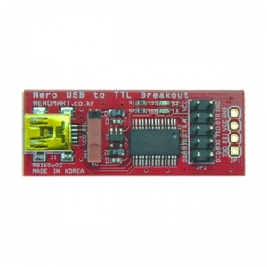 [NER-16103] Nero USB to TTL Breakout (10pin Header)