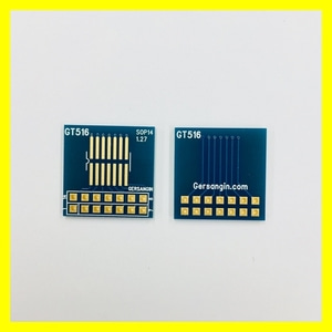 [GT 516] SOP-14-1.27mm pcb adapter 변환기판